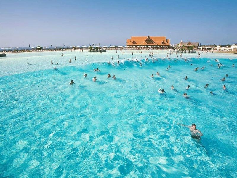 Parque aquático na Espanha