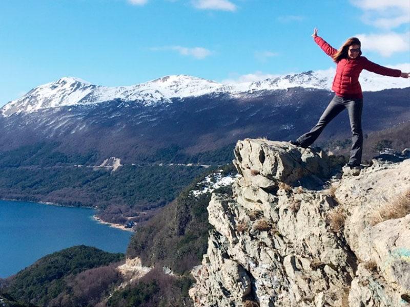 Belezas naturais em Ushuaia