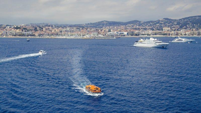 fotos do Mar de Cannes