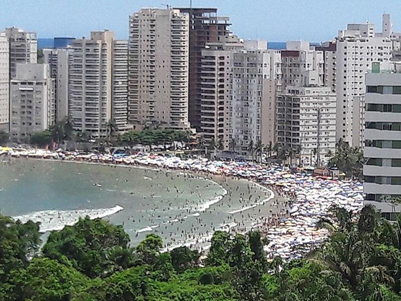 Praias populares de São paulo
