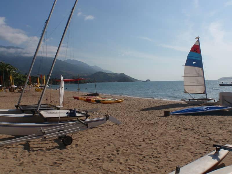 praias para velejar em São paulo