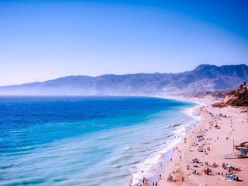 Pontos turísticos da Califórnia