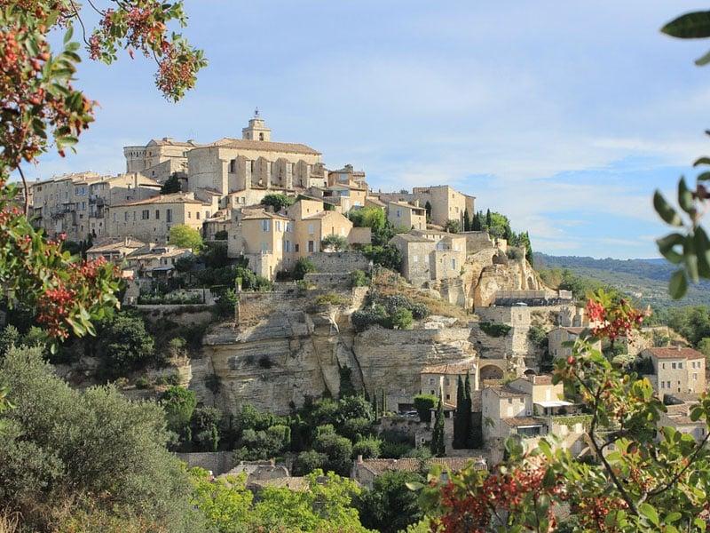 cidades turísticas da Provence