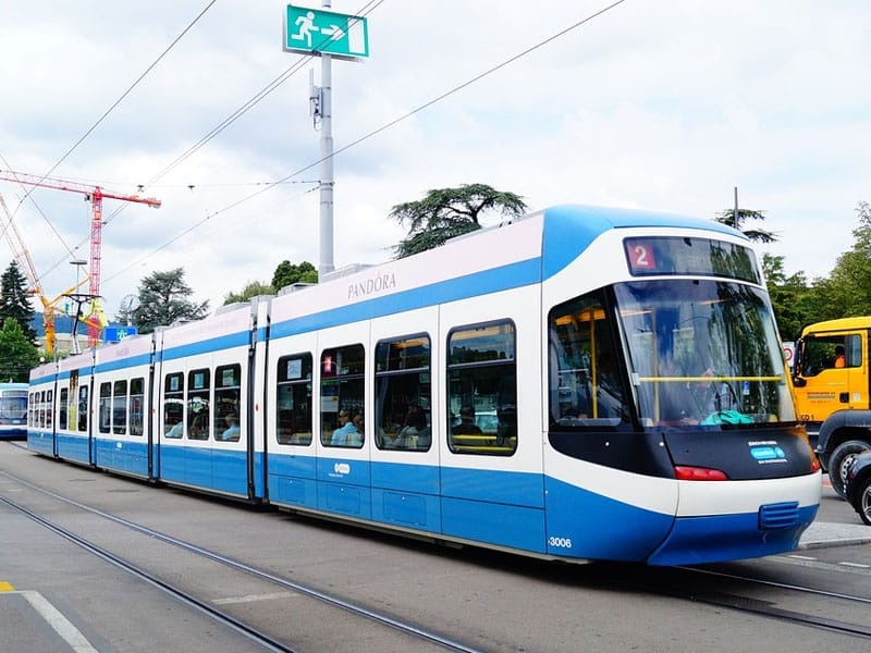 Meio de transporte Suíça