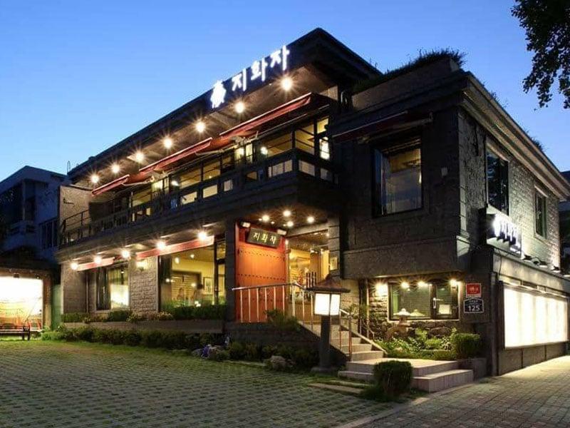 Restaurantes coreanos