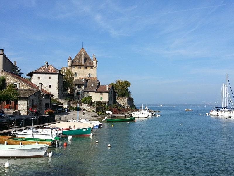 Castelos na França
