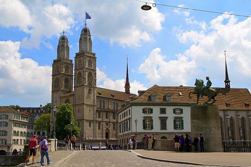 Catedral Grossmünster Zurique