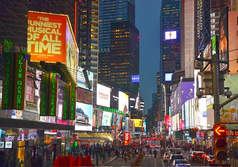 Ruas mais famosos de NY