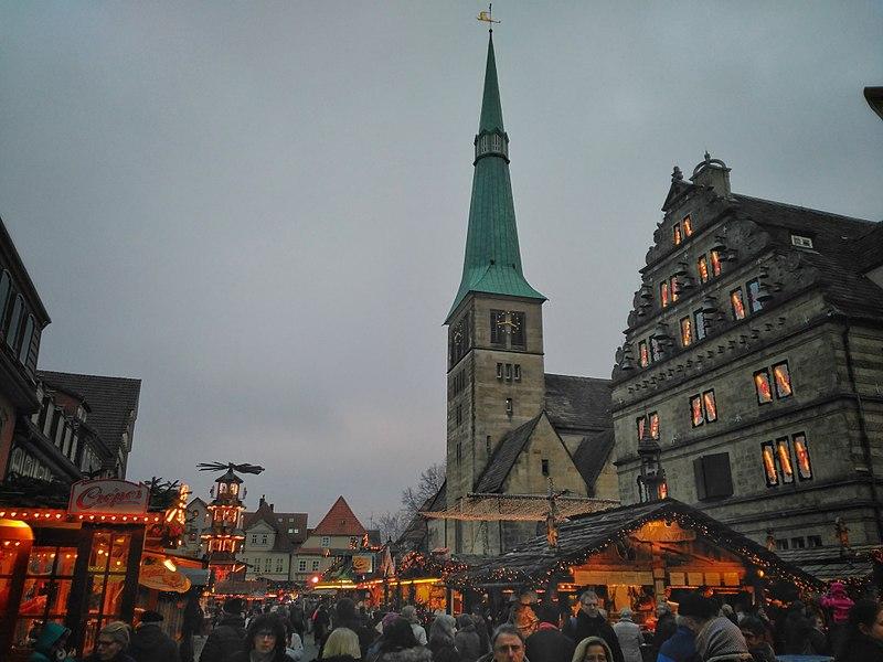 Cidade dos contos de fada na Alemanha