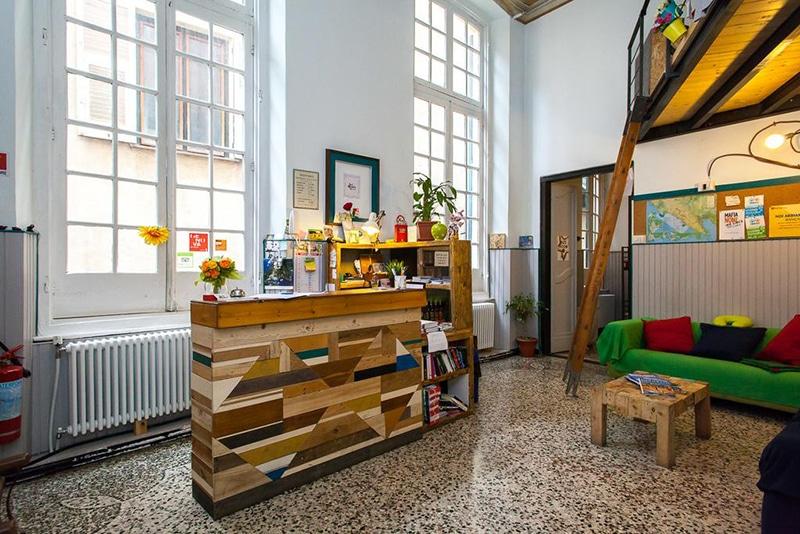 Hostel na Itália