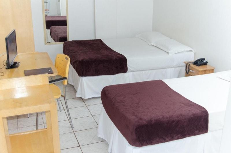 Hotéis no centro de Macapá