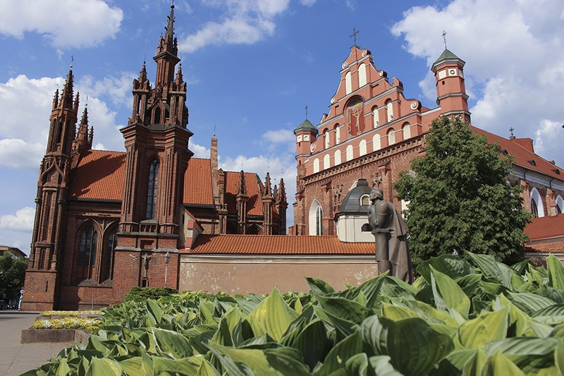 Igrejas em Vilnius
