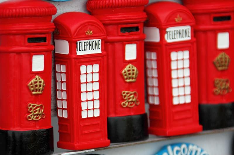 Lembrancinhas de viagem em Londres