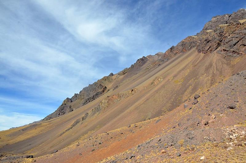Montanhas na Argentina