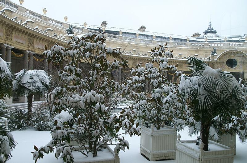 Inverno em Paris Ano Novo