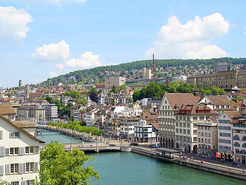 Pontos turísticos em Zurique
