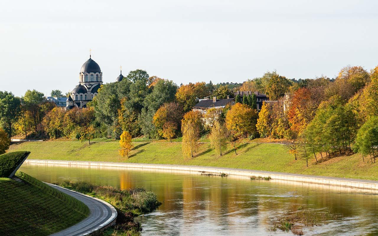 Onde ficar em Vilnius perto da natureza