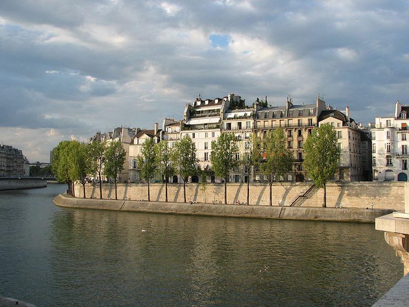 Bairros residenciais em Paris