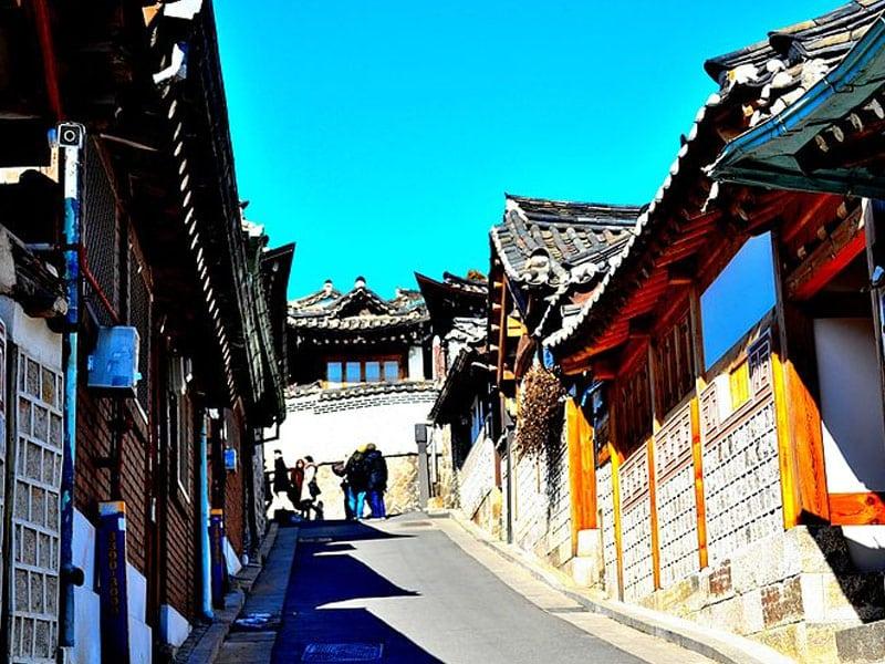 Lugares tradicionais na Coréia do Sul