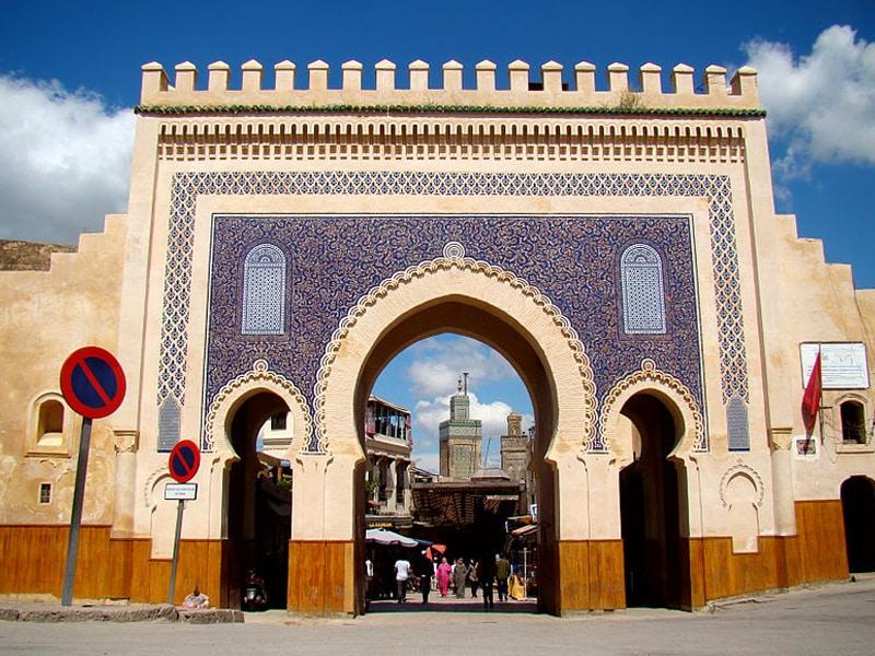 Mapa do Marrocos cultural