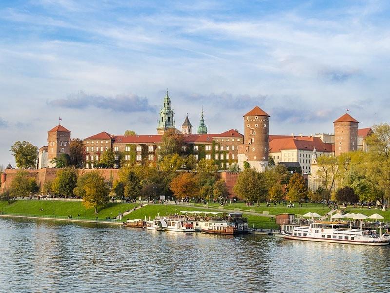 Pontos turísticos da Cracóvia