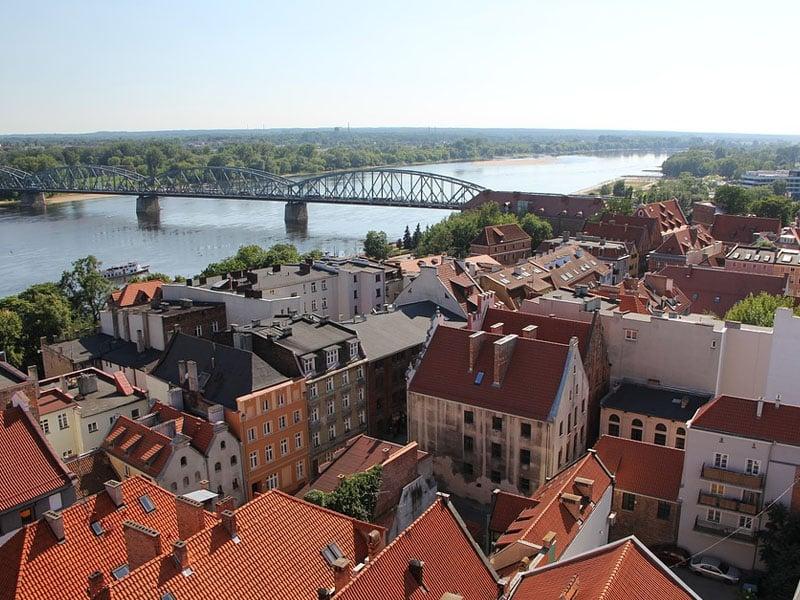 Turismo no mapa da Polônia