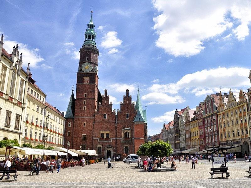 Pontos turísticos da Breslávia