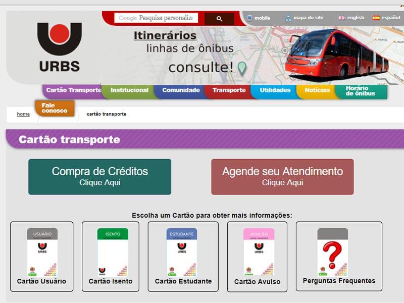 Ônibus em Curitiba