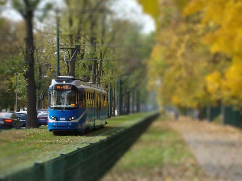 Transporte público em Cracóvia