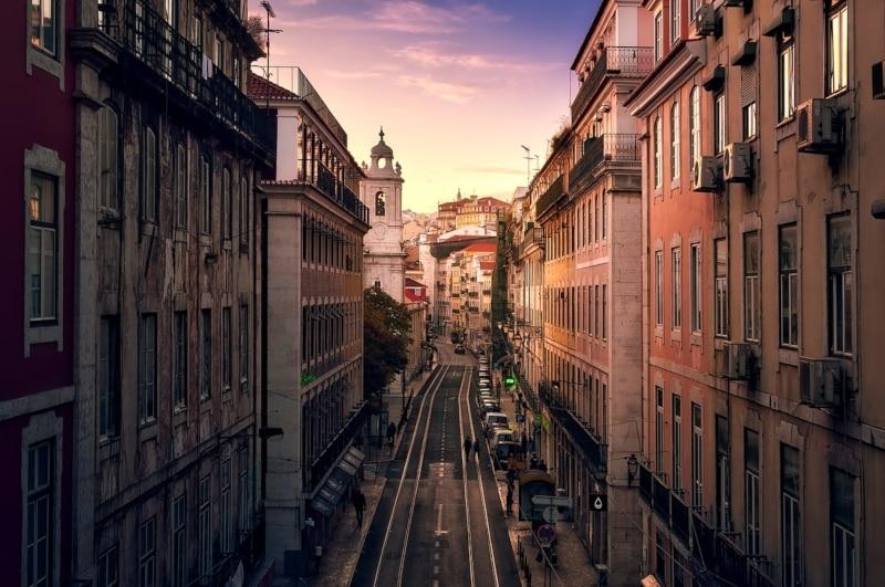 Principais cidades da Europa ocidental