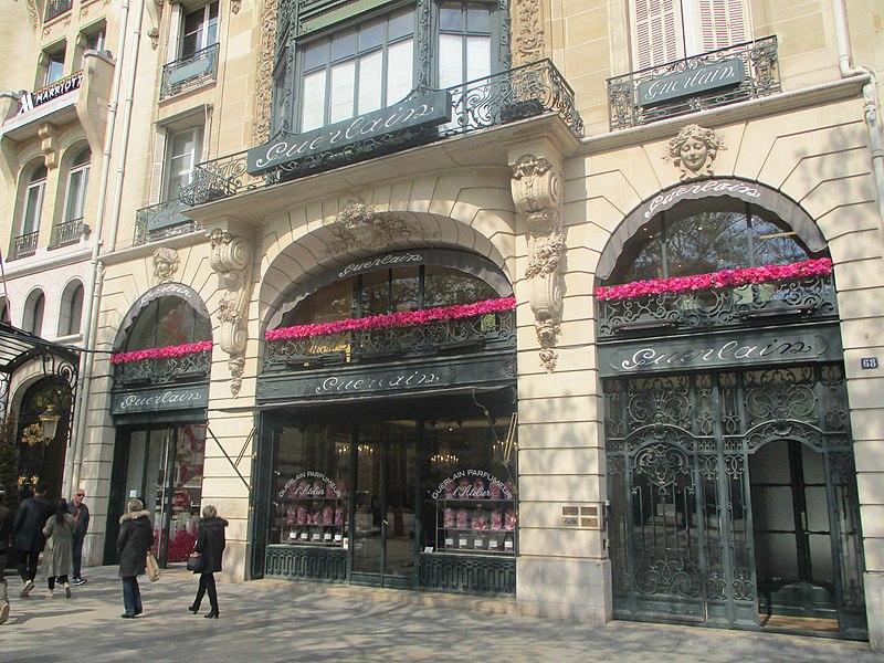 Lojas de perfumes em Paris
