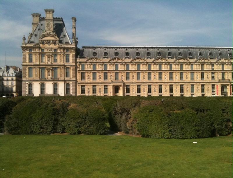 Paisagens naturais lindas em Paris