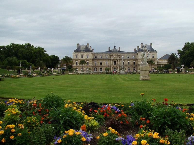 fotos de paris jardim de luxemburgo