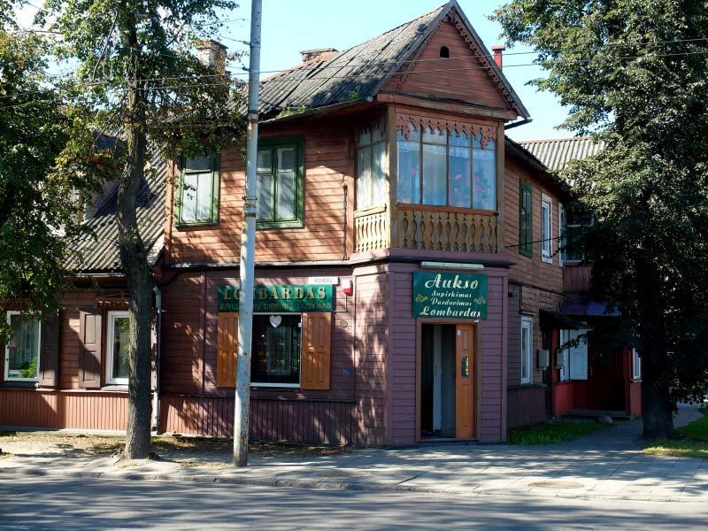 Žvėrynas - um dos melhores bairros onde ficar em Vilnius