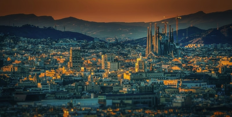 Cidades do mapa mundi Europa