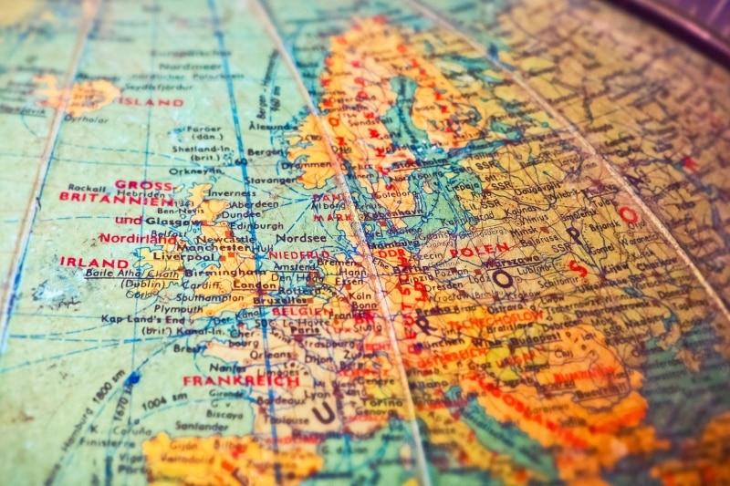 Mapa mundi Europa