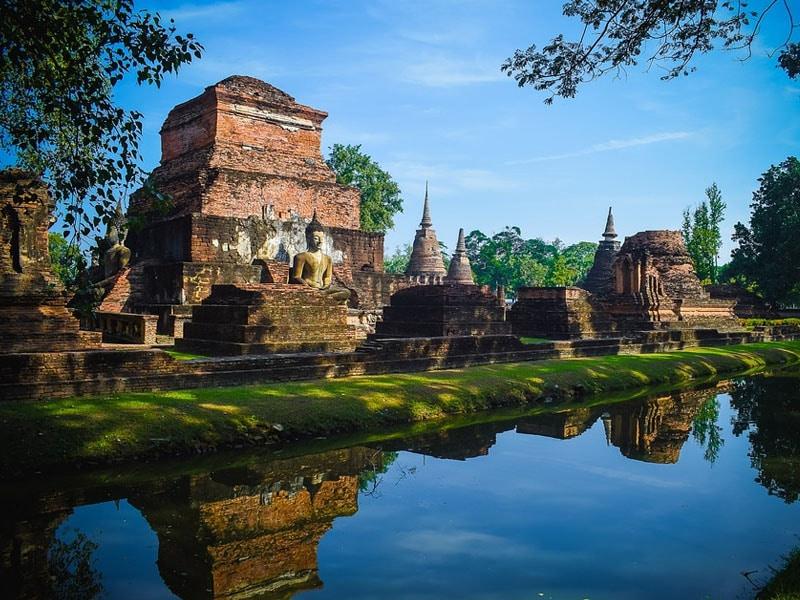 Pontos turísticos de Sukhothai