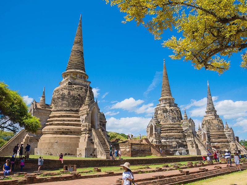 Pontos turísticos da Tailândia