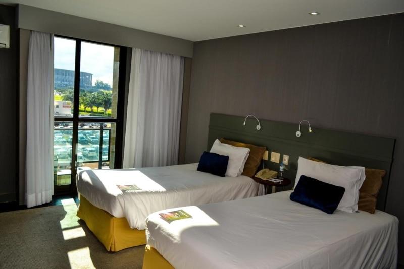 Hotéis com academia em Brasília