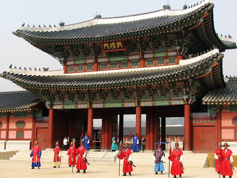 Palácios na Coréia do Sul