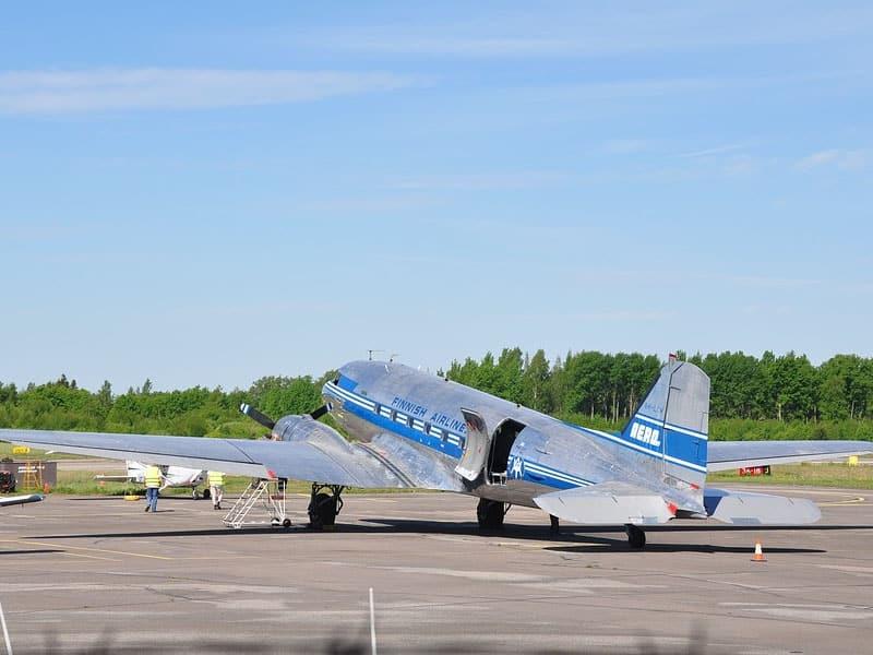 Passagem aérea para Helsinque