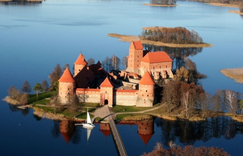 Castelos em Vilnius
