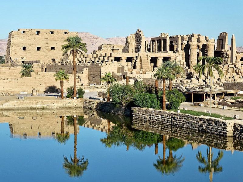 Melhores templos do Egito