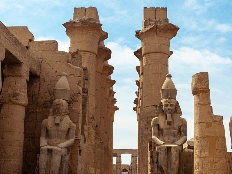 Roteiro em Luxor, no Egito