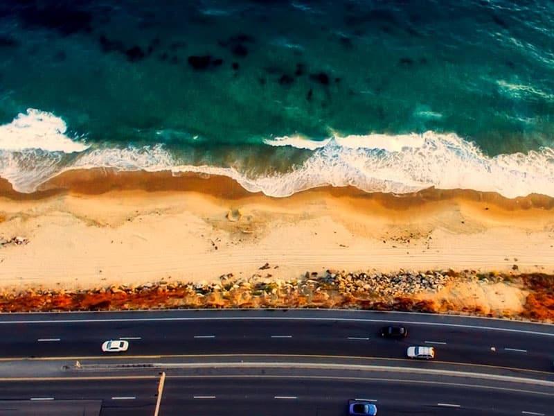 Praia em Laguna Beach