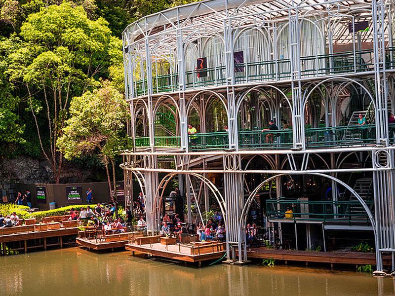 Restaurantes próximo a pontos turísticos em Curitiba
