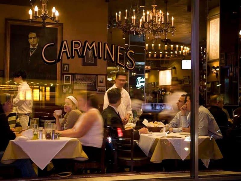 Restaurantes na Times Square, NY
