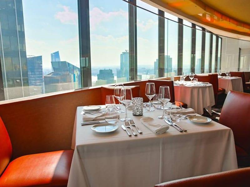 Restaurantes caros em NY