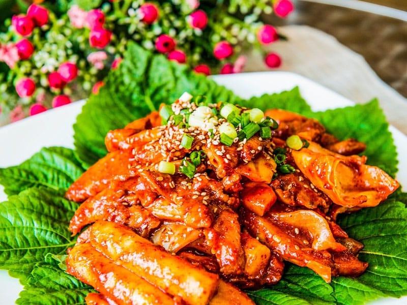 Culinária típica de Seul
