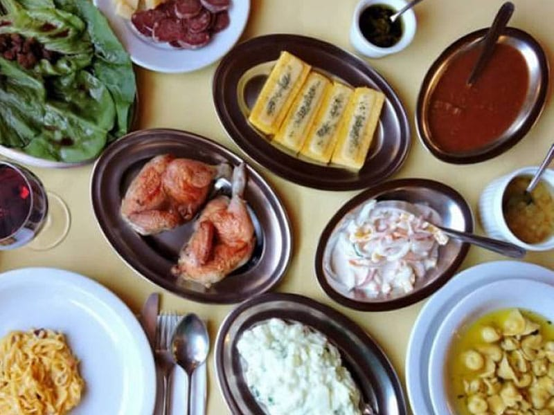 Comida italiana no Rio Grande do Sul